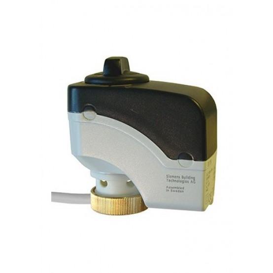 Привод клапана, 3-контактный, 300 Н, AC 230 В, 150 с, 1.5 м, ручной регулятор