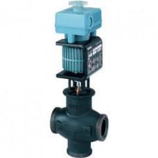 Смесительный/2-ходовой клапан с магнитным приводом, внешняя резьба, PN16, DN15, kvs 3, AC / DC 24 В, DC 0/2...10 В, 4...20 мА