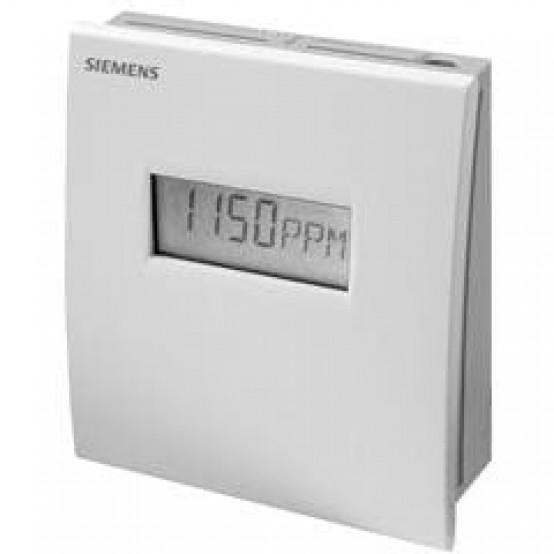 Комнатный датчик качества воздуха CO2+VOC с дисплеем