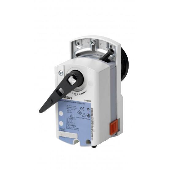 Привод шарового клапана, роторный, БЕЗ ПРУЖИННОГО ВОЗВРАТА, AC 24 V, DC 0..10 V, 10 НМ, 150 С