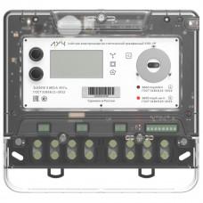Счетчик электрической энергии трехфазный многотарифный с радиомодемом LPWAN+3G ЛУЧ УЭ3 T 3х230В/400В 5(90)А; ОАQUVF-С (Оптопорт, интерфейс RS-485 с реле отключения нагрузки; электронная пломба; датчик магнитного поля; класс точности – 1.0/1.0, СПОДЭС)