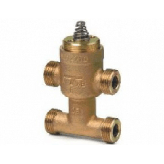 Клапан регулирующий OEM, 3-х ходовой, DN10, KVS 1, шток 5.5