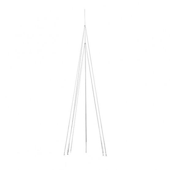 Мачта молниеприемная L=10м, D=40мм (+ коробка с растяжками) AL/NI EKF PROxima