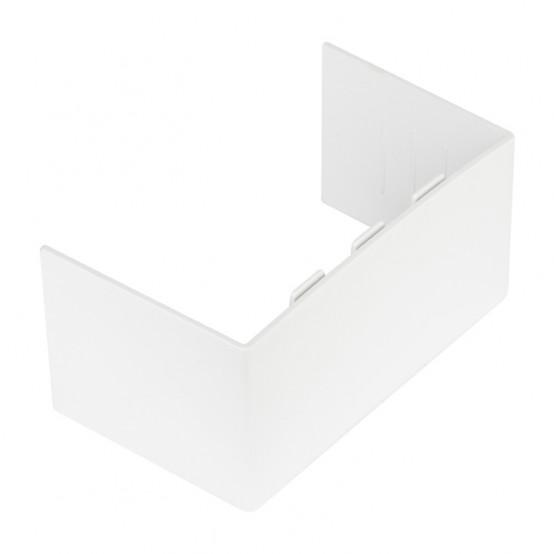 Соединитель (100х60) (2 шт) Plast EKF PROxima Белый