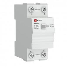 Реле напряжения (сквозное подкл.) RVb-40A EKF Basic