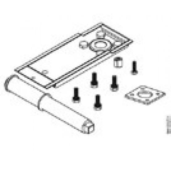 Пластиковая крышка отсека для подключения проводов для приводов клапана серии SKB и SKC.