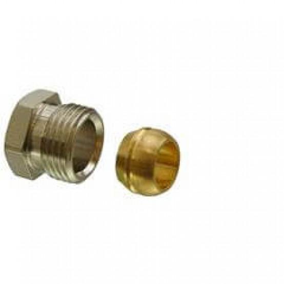 """Обжимные фитинги ½"""", 15 мм для медных или стальных труб"""