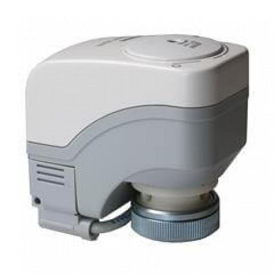 Электромоторный привод, 100 Н, 2,5 / 5 мм, 1,5 м, АС 230 В, 3-точечный, вспомогательный переключатель