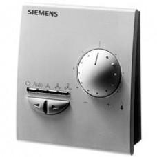 Комнатный модуль с датчиком, задатчиком уставки и переключателем режимов работы и выбором скоростей вентилятора; интерфейс PPS2
