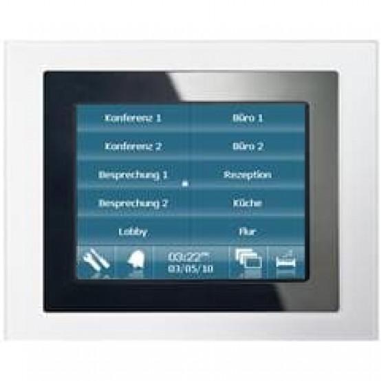 Информационная панель UP 580/13, тактильная, 320х240 5,7' TFT, регулируемая LED-подсветка, питание 24V AC/DC