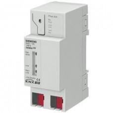 Устройство сопряжения N 140/13 линейно-зонное, для организанизации связи между линиями/зонами, c контактной системой на клеммах KNX