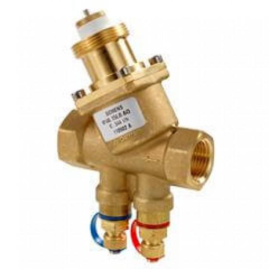 Комбиклапан, PN25, DN15, 30…200 л/ч, ниппели измерения давления