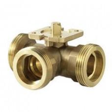 3-ходовой шаровой клапан, с наружной резьбой