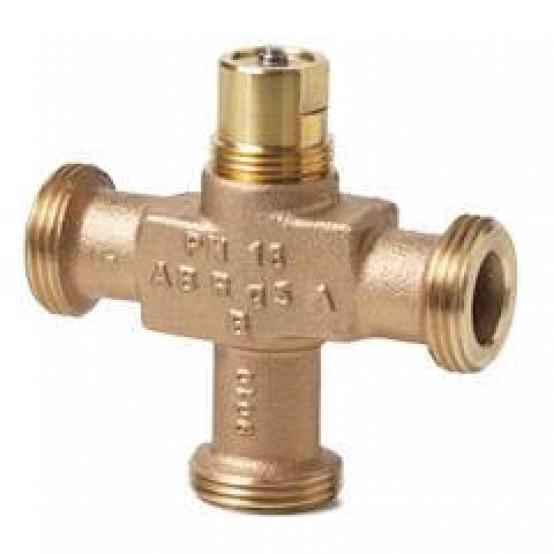 3-ходовый седельный клапан, внешняя резьба, PN16, DN15, kvs 4