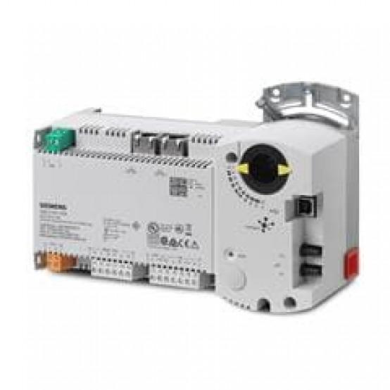 Компактная станция автоматизации, BACnet / IP, 24 В, корпус DIN, 1 DI, 2 UI, 1 AO, 4 симистора, датчик давления, 60 точек данных
