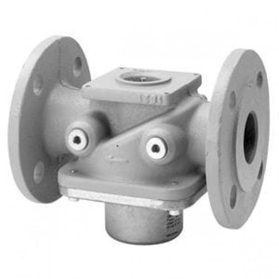 """Газовый клапан, DN50, 47,4 м³ / ч, 4xRp¼ """", контурный диск, без регулирования расхода газа"""