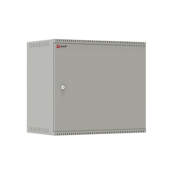 Шкаф телекоммуникационный настенный 9U (600х350) дверь металл, Astra E серия EKF PROxima