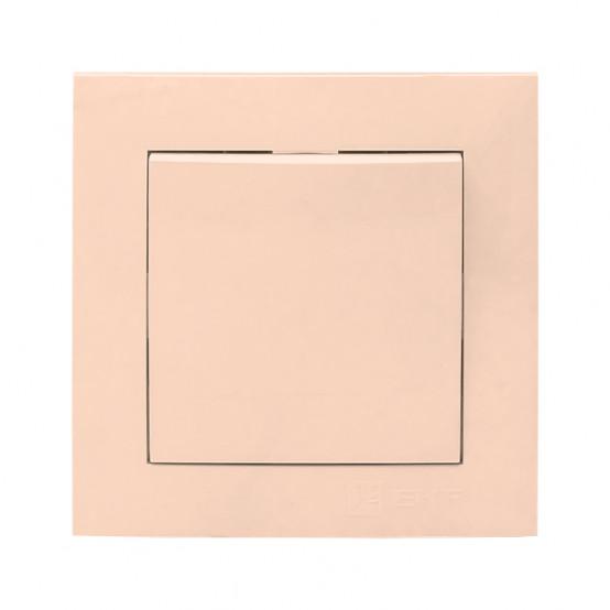Валенсия выключатель 1-кл. 10А кремовый EKF PROxima