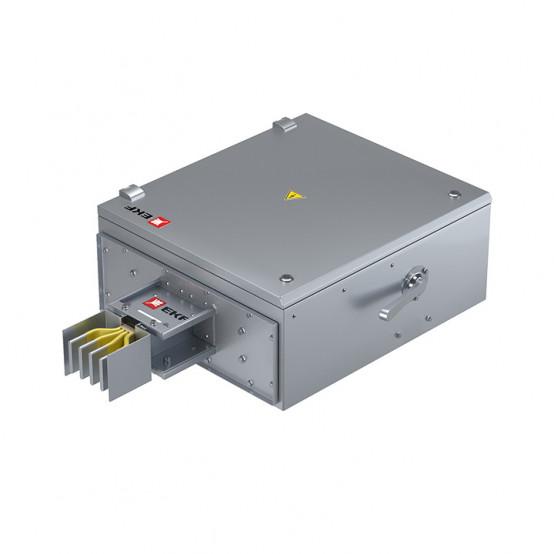 Концевая кабельная коробка 2000 А IP55 AL 3L+N+PE(ШИНА)