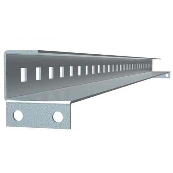 Рейка для фиксации кабеля FORT для корпуса шириной 400 (2шт.) EKF PROxima
