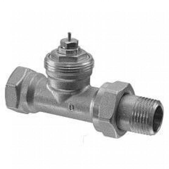 2-ходовые радиаторные клапаны, DIN, 2-х трубная система, PN10, DN20, kvs 0.31..1.41