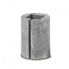 Квадратная вставка вала диаметром 8 мм