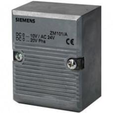 Электронный блок для магнитных клапанов, AC 24 В, DC 0...10 В / 0...20 В Phs
