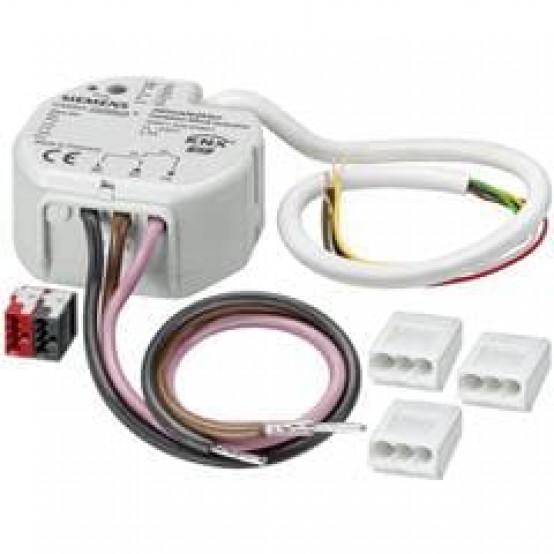Модуль управления жалюзи N 520/31, комбинированный, 1х230V AC 6A, 2 безпотенциальных входа, для произвольного монтажа