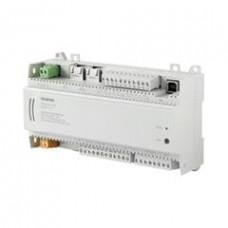 Компактный комнатный контроллер, BACnet/IP, 24 V, корпус DIN, 2 DI, 4 UI, 4 AO, 8 тиристорных выходов