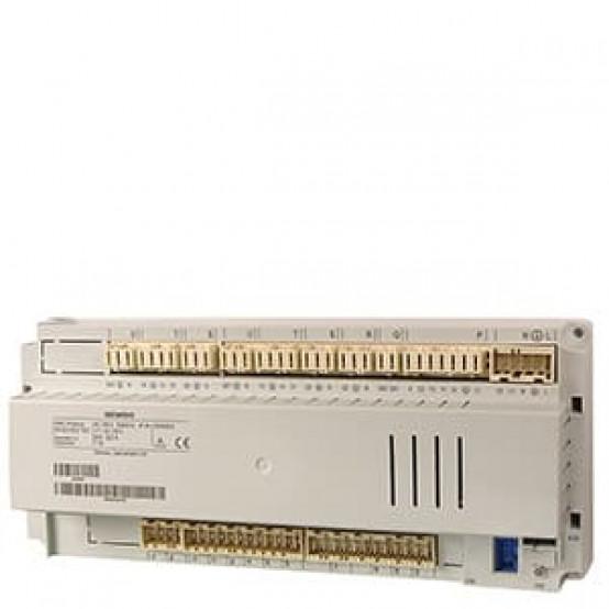 Контроллер котла, двухступенчатый, 2 отопительных контура, ГВС, LPB, 31 вход / выход,