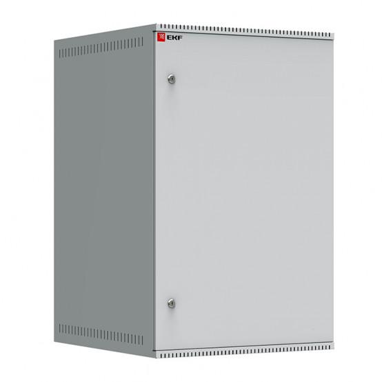 Шкаф телекоммуникационный настенный 18U (600х650) дверь металл, Astra A серия EKF Basic