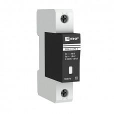 Ограничитель импульсных напряжений ОПВ-C/1P In 20кА 400В с сигн. EKF PROxima