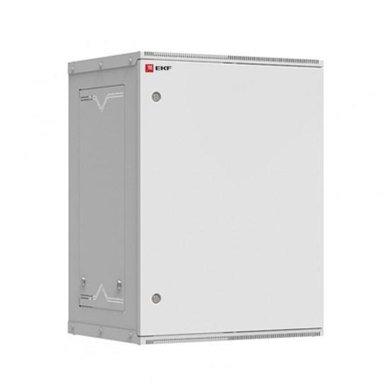 Шкаф телекоммуникационный настенный разборный 15U (600х450) дверь металл, Astra серия EKF PROxima