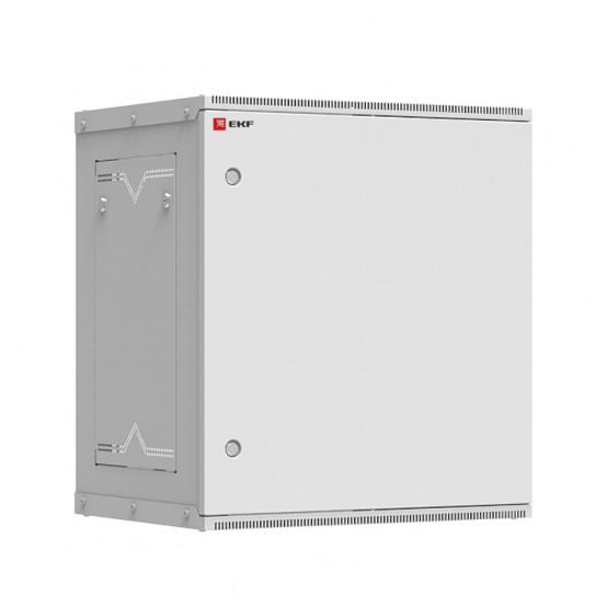Шкаф телекоммуникационный настенный разборный 12U (600х450) дверь металл, Astra серия EKF PROxima