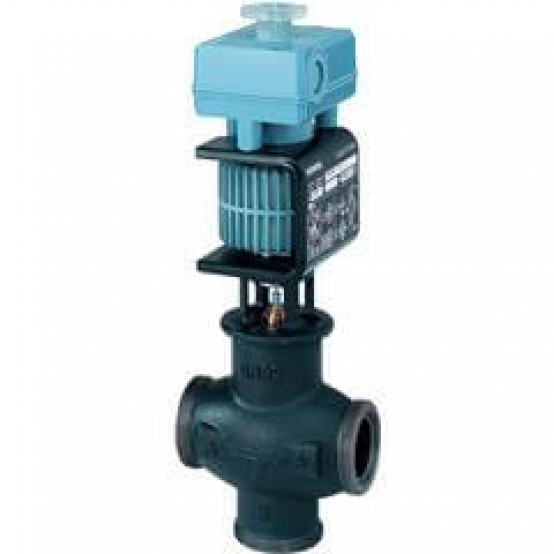 Смесительный/2-ходовой регулирующий клапан, резьбовой, PN16, DN40, kvs 20, AC / DC 24 В, DC 0/2...10 В, 4...20 мА, для сред с минеральным маслом