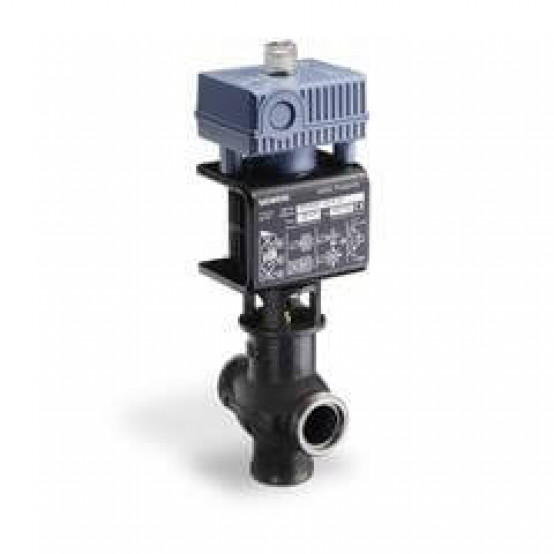 """Смесительный/2-ходовой клапан с магнитным приводом 2-1/2"""", 58.2 Cv, управляющий сигнал 0 ... 10V, глухой фланец"""