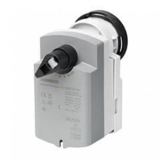 Электромоторный поворотный привод с пружинным возвратом для шаровых клапанов