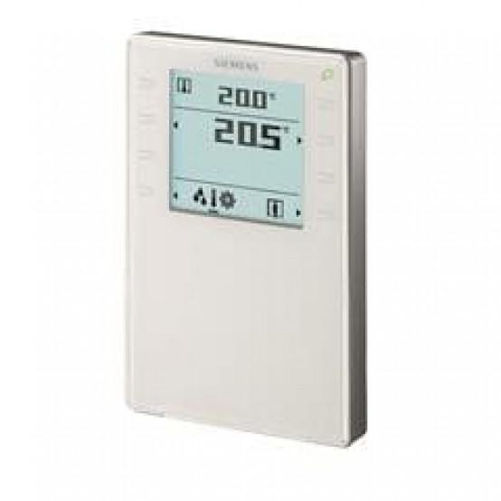 Комнатный модуль KNX с датчиком температуры, влажности, CO2, сегментированным дисплеем с подсветкой, сенсорные клавиши