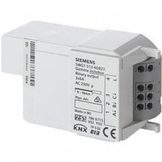 Релейные выходы, 3 x 6 A, AC 230 V