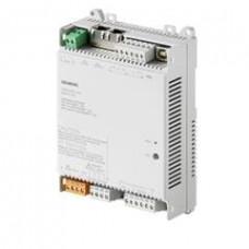 Компактный комнатный контроллер, BACnet/IP, 230 V, плоский корпус, 1 DI, 2 UI, 3 реле, 3 AO
