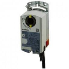 Компактный модульный контроллер объема воздуха для систем 0...10 В / 3-точечное регулирование, 24 В, 10 Нм, 150 с, 300 Па