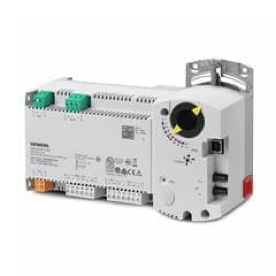 Компактная станция автоматизации, BACnet/MSTP, 24 В, корпус DIN, 1 DI, 2 UI, 1 AO, 4 симистора, датчик давления, 60 точек данных