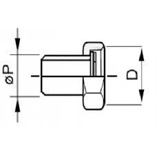 Фитинги под сварку для клапана или регулятора перепада давления