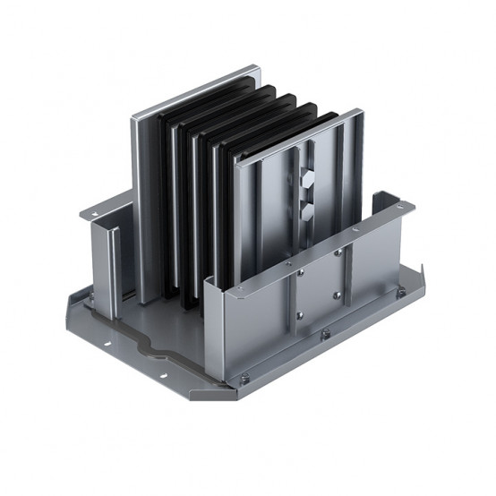 Соединительный блок для подключения коробок Bolt-on 2500 А IP55 AL 3L+N+PE(КОРПУС)