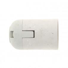 Патрон Е27 пластиковый подвесной термостойкий пластик бел. EKF PROxima