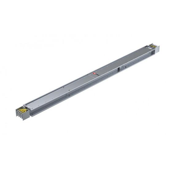 Прямая магистральная стандартная секция 2500 А IP55 AL 3L+N+PE(ШИНА) длина 3м