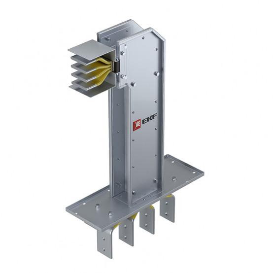 Фланцевая секция с горизонтальным углом для подключения к щиту 2500 А IP55 AL 3L+N+PE(КОРПУС)