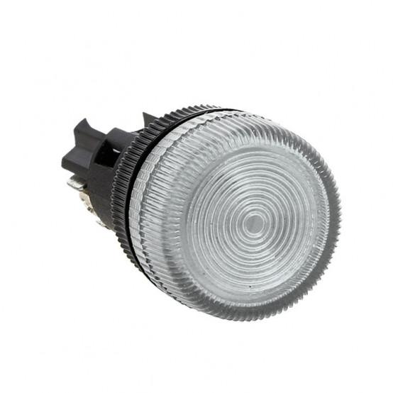 Лампа сигнальная ENS-22 белая 220В EKF PROxima