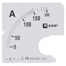 Шкала сменная для A721 150/5А-1,5 EKF PROxima