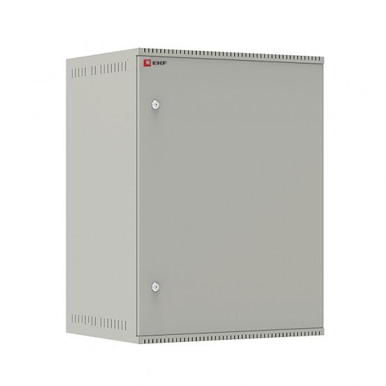 Шкаф телекоммуникационный настенный 15U (600х450) дверь металл, Astra E серия EKF PROxima